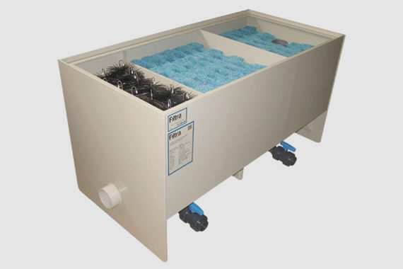 Filtreco - 3 chamber double mats