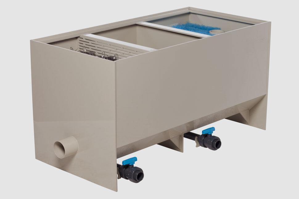 Filtreco - 3 chamber medium