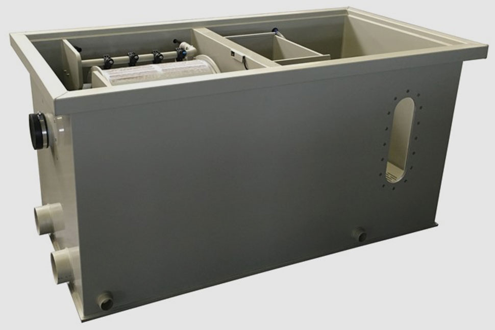 Filtreco - Combi drum filter 25 (gravity)