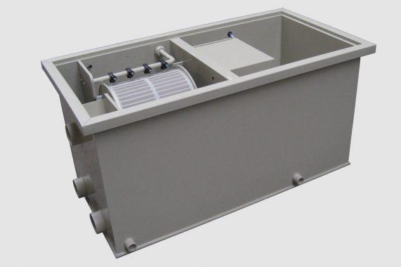 Filtreco - Basic combi drum filter 25 (gravity)