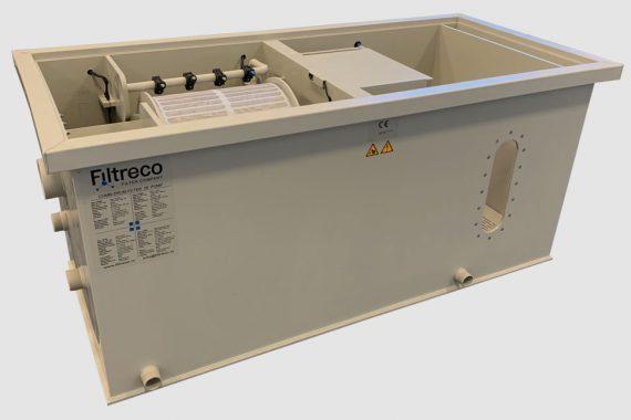 Filtreco - Combi drum filter 25 (pump)