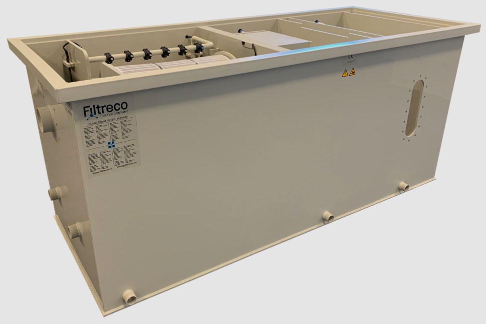 Filtreco - Combi drum filter 55 (pump)