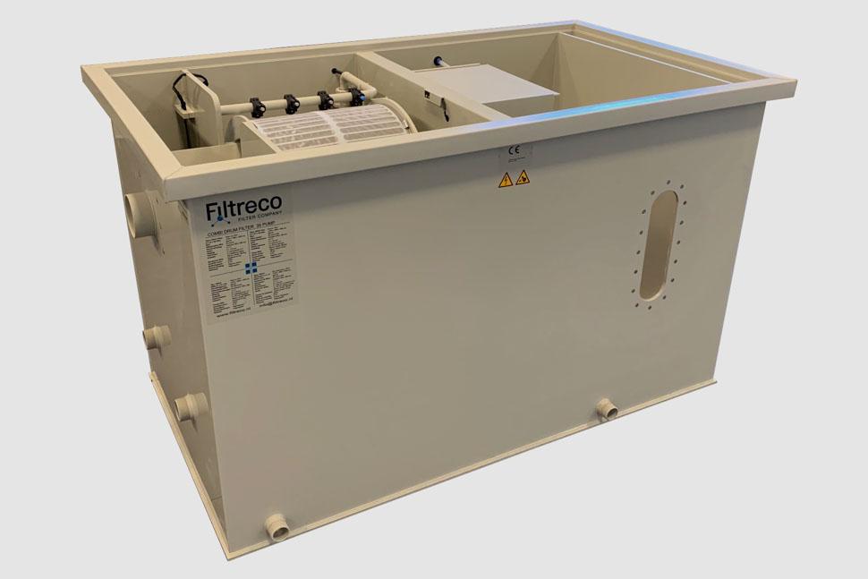Filtreco - Combi drum filter 35 (pump)