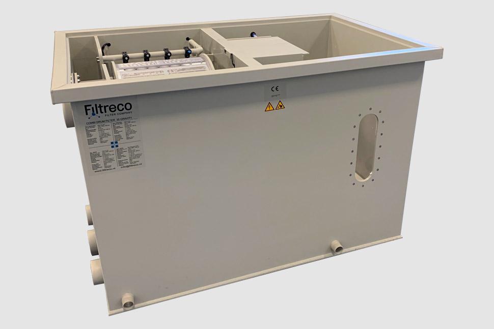 Filtreco - Combi drum filter 35 (gravity)