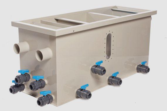 Filtreco - 3 chamber gravity sieve