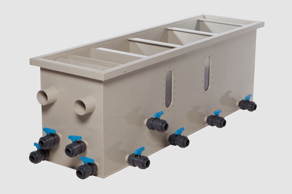 Filtreco - 4 chamber gravity sieve