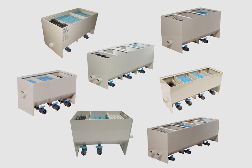 Filtreco - Multiple chamber filter